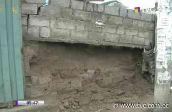 Sismo en Machachi dejó fisuras en viviendas y un muro colapsado - tvc.com.ec