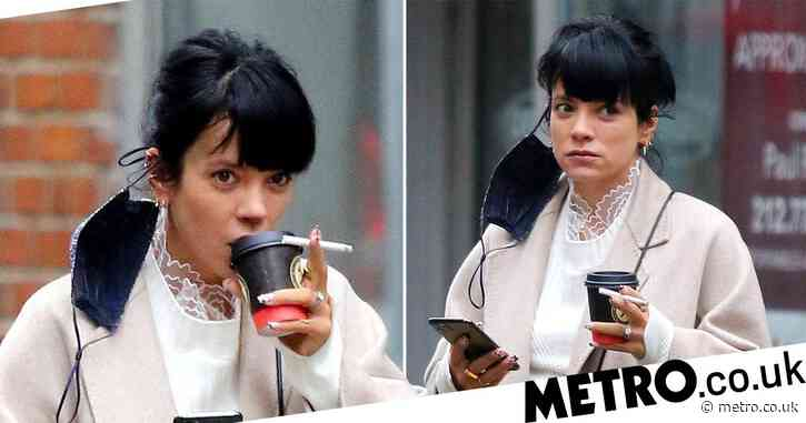 Lily Allen heads back to New York to reunite with David Harbour after speaking out about female masturbation