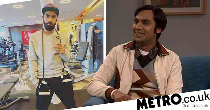The Big Bang Theory's Kunal Nayyar bins all traces of Raj with gym selfie