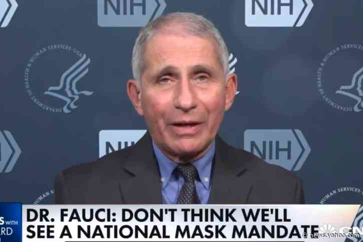 Fauci calls for a national mask mandate