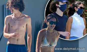 Eiza Gonzalez and Timothee Chalamet are 'no longer together' following steamy PDA-filled summer