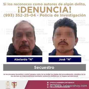 Rescatan a víctima de secuestro en Tenosique - tabasco hoy