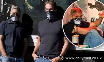 George Clooney masks up with Rande Gerber for socially-distanced Halloween experience with Casamigos
