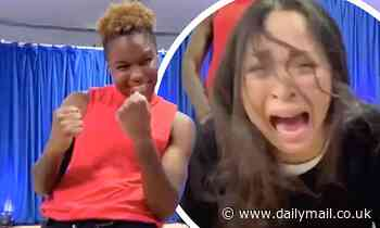 Strictly's Nicola Adams leaves Katya Jones unimpressed with funny moves in hilarious clip