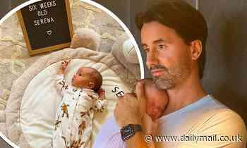 Jay Rutland shares sweet snaps of baby Serena... six weeks after wife Tamara Ecclestone gave birth