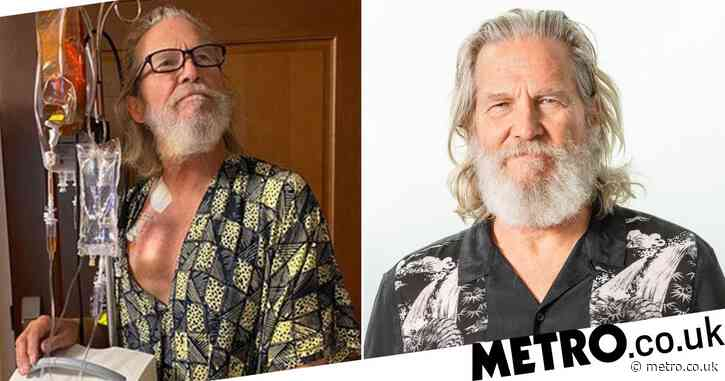 Jeff Bridges smiles amid lymphoma treatment as he thanks fans for support after diagnosis