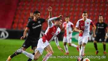 Slavia Prag - Bayer 04 Leverkusen JETZT im Live-Ticker: Schiri-Schock - Rote Karte aus dem Nichts