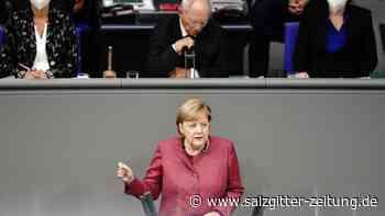 Merkel verteidigt harte Einschnitte gegen Corona - Salzgitter Zeitung