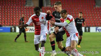 Slavia Prag - Bayer 04 Leverkusen: Drama in Prag - Werkself verliert in Unterzahl