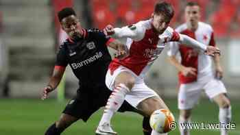 Europa League: Leverkusen unterliegt Prag in Unterzahl