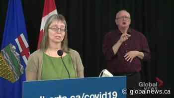 Alberta's top doctor explains indicators that influence mandatory measures