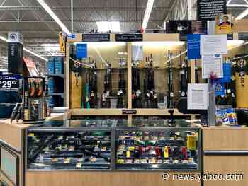 Walmart is removing guns and ammo from shelves and display cases in all stores as a precaution due to 'civil unrest'