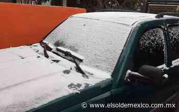 Llega la primera nevada de la temporada a Ciudad Juarez - El Sol de México
