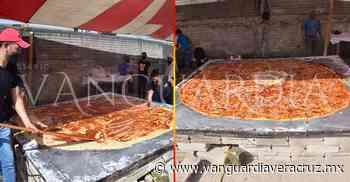 Rompen el récord de la garnacha más grande del mundo, en Altotonga - Vanguardia de Veracruz