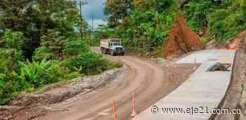 Indígenas y camioneros taponan vía entre Chocó y Risaralda - Eje21