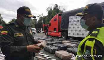 Dos toneladas de marihuana fueron incautadas en Risaralda - Caracol Radio