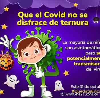 Gobernación de Risaralda invita a prevenir el COVID este 31 de octubre - Eje21