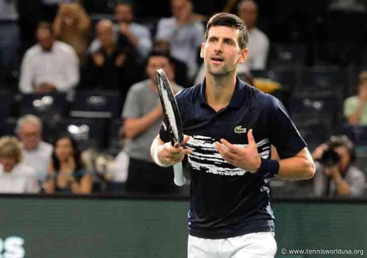 Will it matter to Novak Djokovic that Thiem is the defending champ of Vienna?