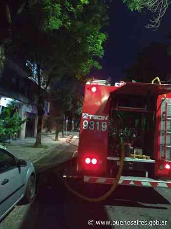 Incendio en un salón de fiestas de parque chacabuco - buenosaires.gob.ar