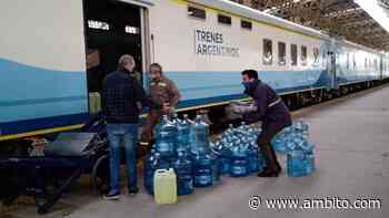 El tren Buenos Aires - Mar del Plata regresó a la ciudad balnearia tras siete meses - ámbito.com