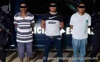 Detienen a tres hombres en posesión de presunta droga en Ometepec - El Sol de Acapulco