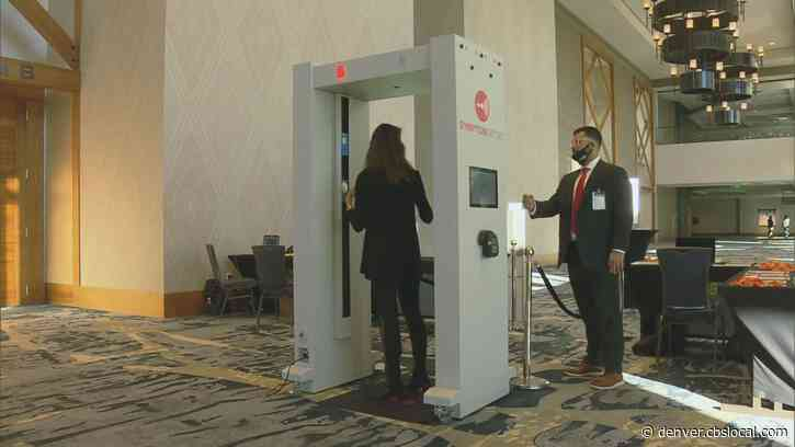 Gaylord Rockies Resort In Aurora Utilizes 'Symptom Sense' Scanner, Microbial Cleaning During Conference