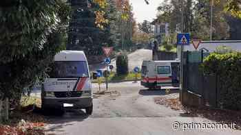 Incidente ad Alzate Brianza soccorso un giovane - Prima Como