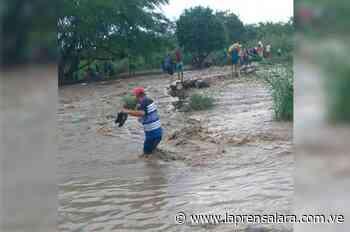Crecida del Río Táchira represa a migrantes y compradores en San Antonio - La Prensa de Lara