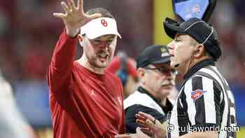 OU football: Frustrated Lincoln Riley says his view on marijuana use, rehabilitation has changed '180 degrees' - Tulsa World