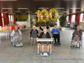 """Woon-zorgcentrum herbergt vijf eeuwelingen: """"Moet ge nu 100 jaar worden om dan nog die corona mee te maken"""""""