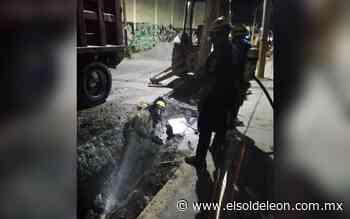 Se registra fuga de gas natural en el Barrio de San Miguel - El Sol de León