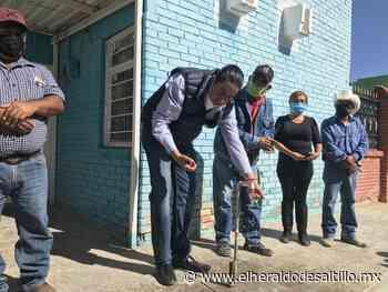 Mejora Chema Morales el almacenamiento de agua potable en congregación San Miguel - El Heraldo de Saltillo