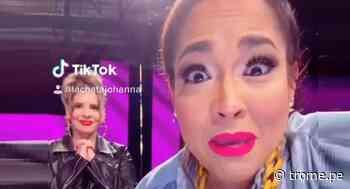 Johanna San Miguel aprende a usar Tik Tok con Katia Palma y este es el resultado - Diario Trome