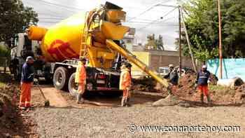 Avanzan las obras de infraestructura urbana en San Miguel - zonanortehoy.com