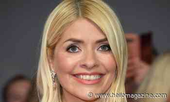 Holly Willoughby wows in flirty feathered mini dress