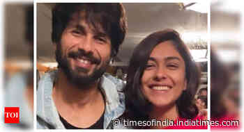 Mrunal reveals she had a crush on Shahid