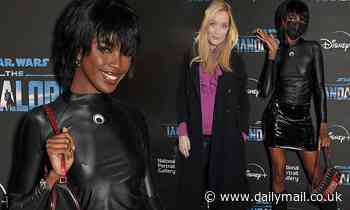 Leomie Anderson joins Laura Whitmore at an event to mark The Mandalorian