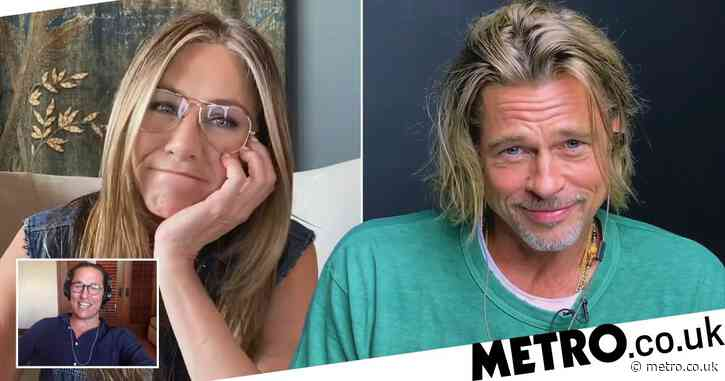 Matthew McConaughey jokes about Brad Pitt and Jennifer Aniston's 'palpable sexual tension' during Fast Times table read