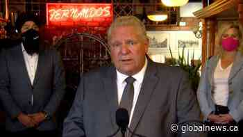 Doug Ford says he 'hates' it that hydro rates are gong up
