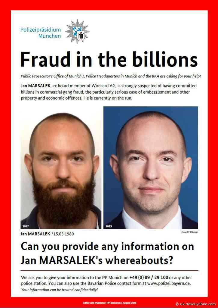 Report: Fugitive tech boss was Austrian spy agency informant