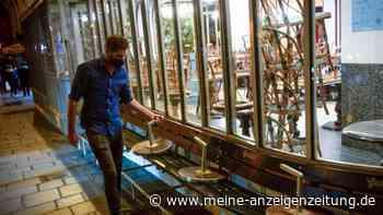 Verzweiflung über Lockdown: Restaurantbesitzer hat gerade 17.000 Euro für Luftreiniger bezahlt