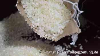 Rückruf von Basmati-Reis: Verbotene Substanz in Produkt gefunden - keinesfalls Verzehren