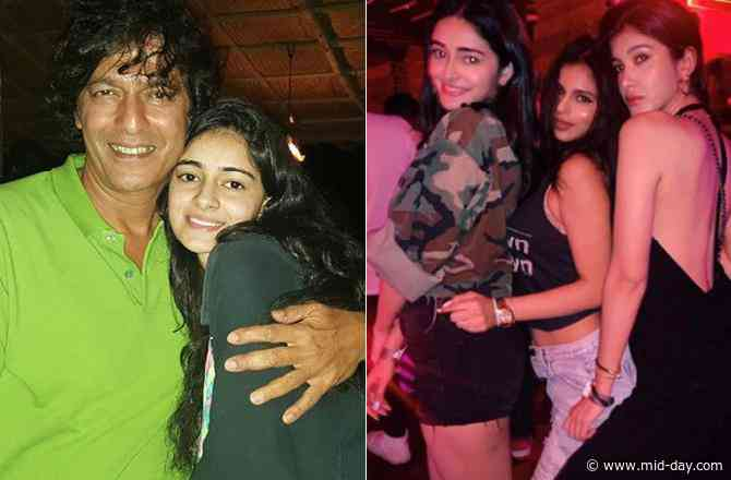 Ananya Panday turns 22: Chunky Panday, Suhana Khan shower love on the birthday girl