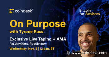Advising the Advisers: 'On Purpose' Podcast Live Taping Party