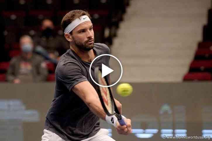 ATP Vienna: Grigor Dimitrov vs Stefanos Tsitsipas' MATCH-POINT!