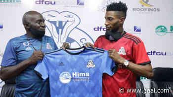 Manzoki Lobi: Vipers SC sign former AS Vita striker for two years
