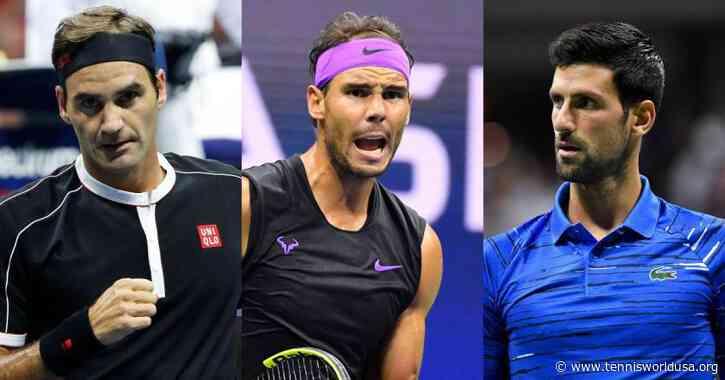 Rafael Nadal on the Slam Race with Roger Federer and Novak Djokovic