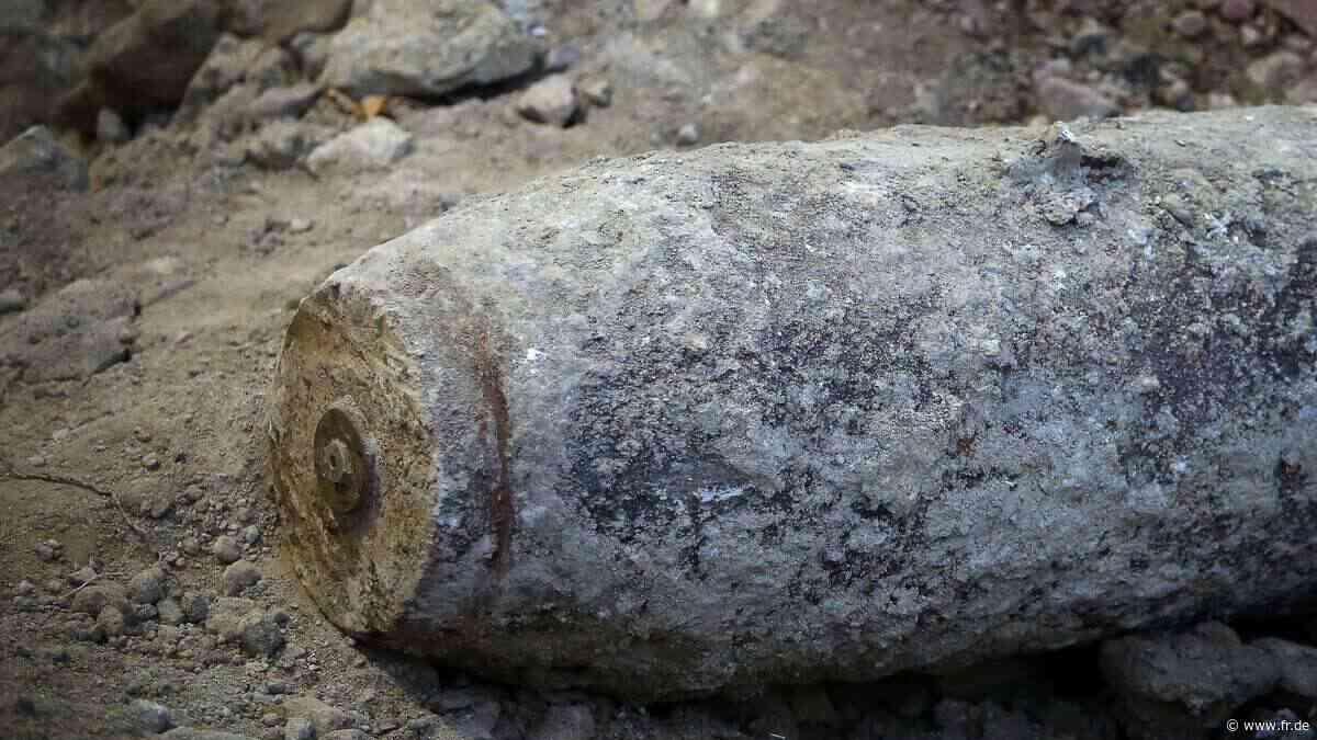 Maintal: Bombe aus dem Zweiten Weltkrieg entdeckt - Sprengung noch heute - Frankfurter Rundschau