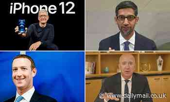 Amazon, Facebook, Google and Apple see profits climb