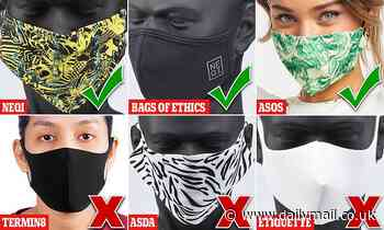 Is YOUR mask safe? New research shows some stop just seven per cent of bacteria